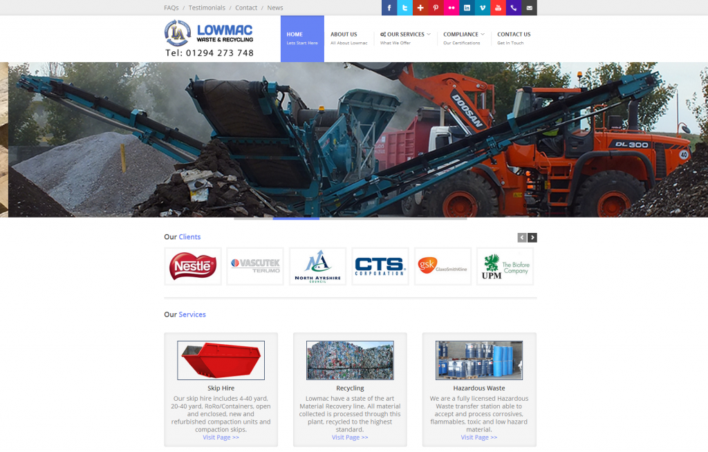 lowmac-alloys-web-design-storm-360-ayrshire-glasgow-scotland